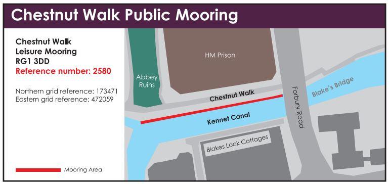 chestnut walk public mooring