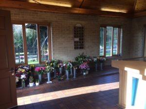 Hall of Memory at Reading crematorium