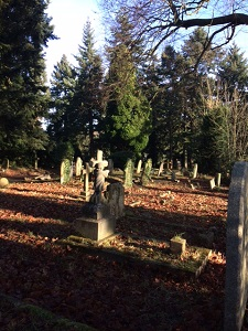 Graves in Caversham Cemetery