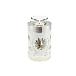 Sunflower tea light holder