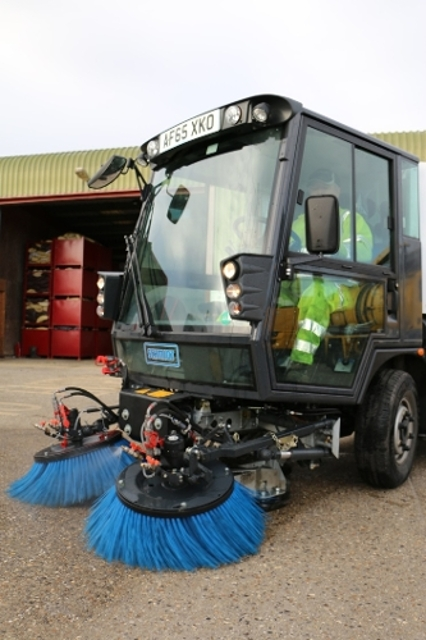 Reading Borough Council street sweeper for commercial hire
