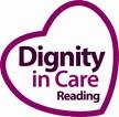 Dignity in Care REading logo for care providers