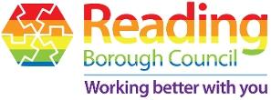 Reading Borough Council LGBTQI+ logo