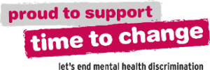 Proud to support time to change. Let's end mental health discrimination