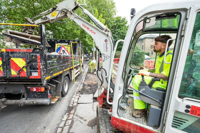 Phase 2 of Reading's pavement improvement work begins
