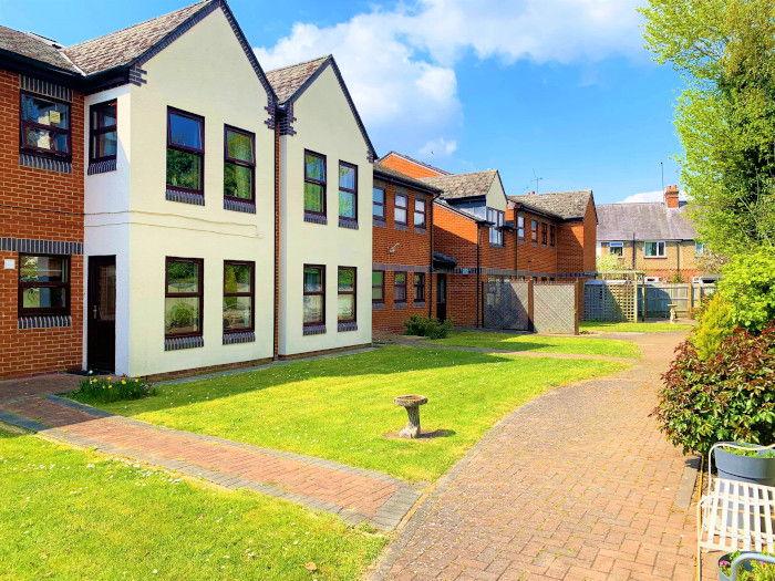 Bristow Court sheltered housing communal gardens