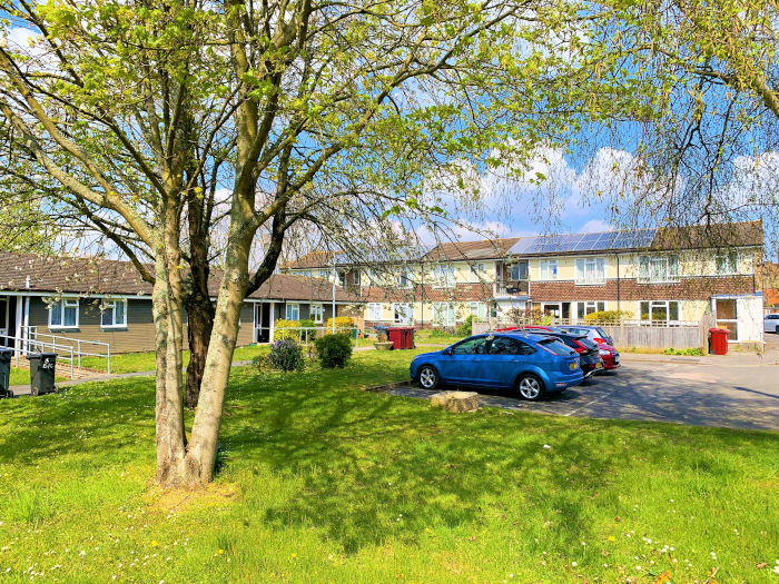 Durham Close sheltered housing outdoor area