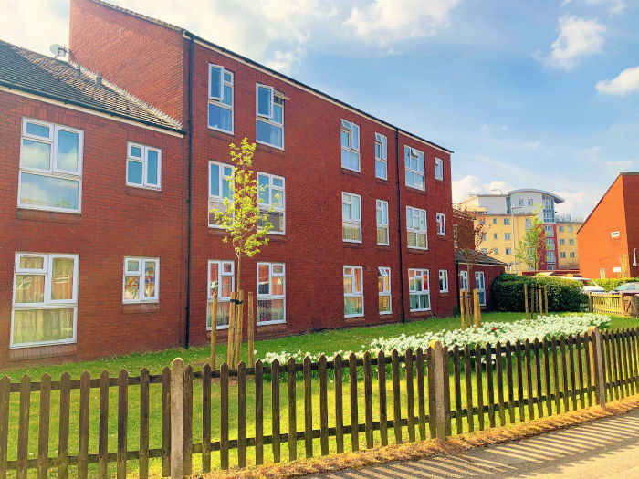 St Stephens Court sheltered housing apartments