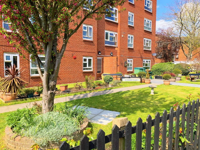 Trinity Place sheltered housing gardens