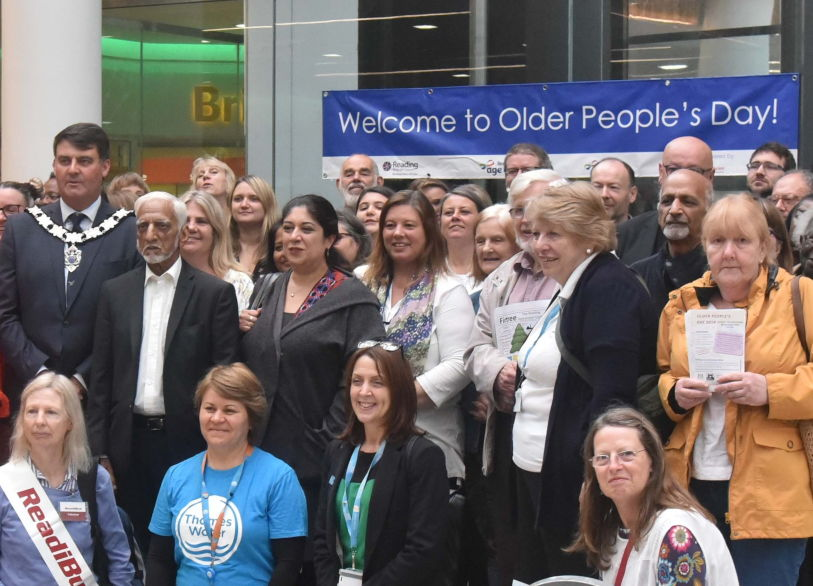Celebrating their contribution to Reading on Older People's Day